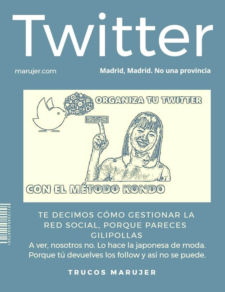 Marie Kondo te enseña a gestionar Twitter, porque eres un inútil integral