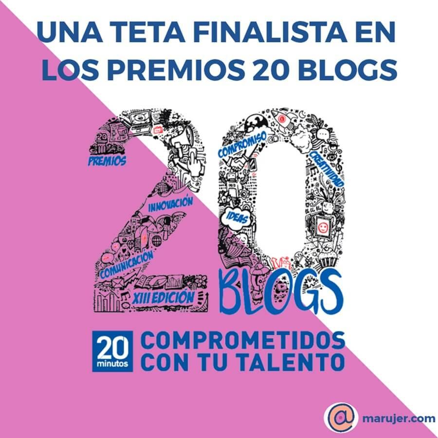 marujer finalista en los premios 20 Blogs de 20 Minutos