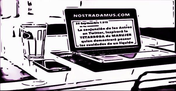 Notradamus tenía un Blog