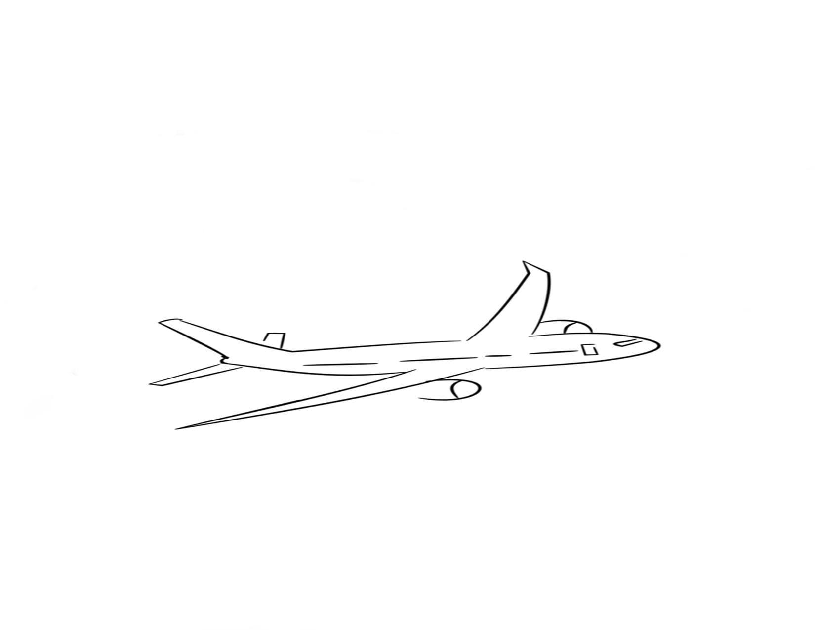 avión explicando la relatividad de las distancias y el moimiento