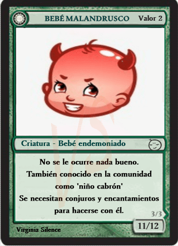 Magic Baby bebé malandrusco