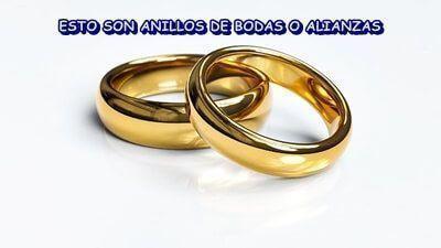 Anillo de bodas o alianza
