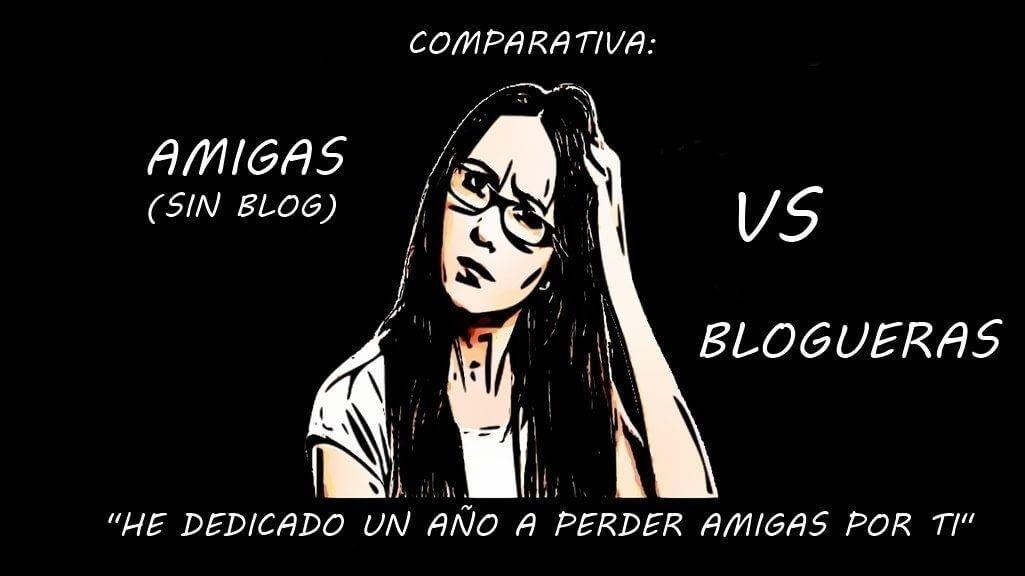 es mejor seguir a una bloguera que ser su amiga