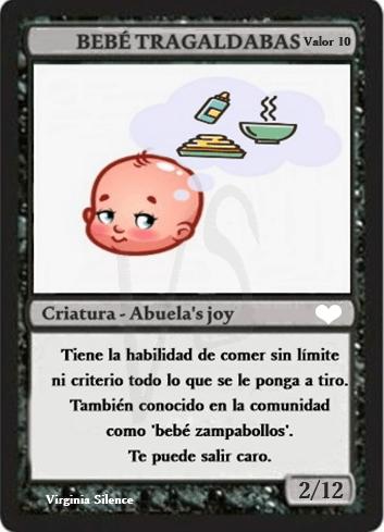 Magic Baby bebé tragaldabas