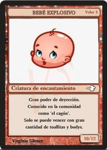 Magic Baby bebé explosivo