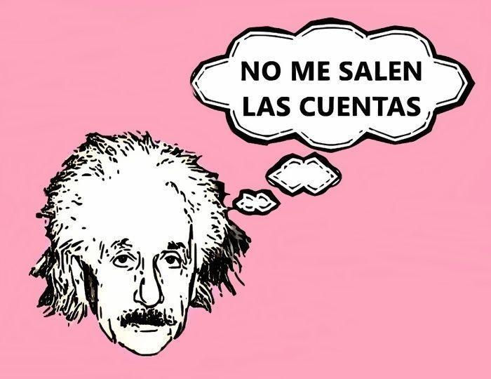 Einstein, no me salen las cuentas