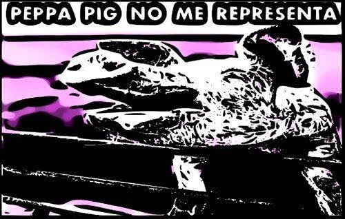 CERDO ODIA PEPPA PIG