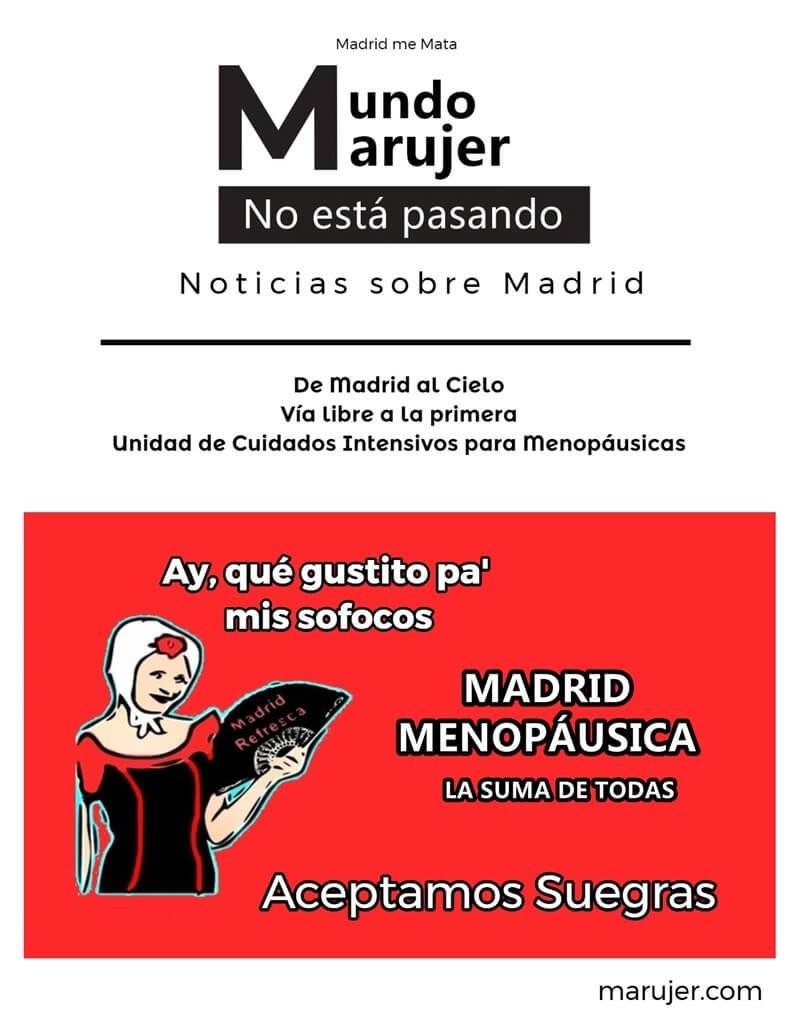 Cuidados menopáusicos durante la ola d Calor en Madrid