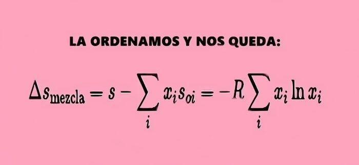 Ecuación despejada