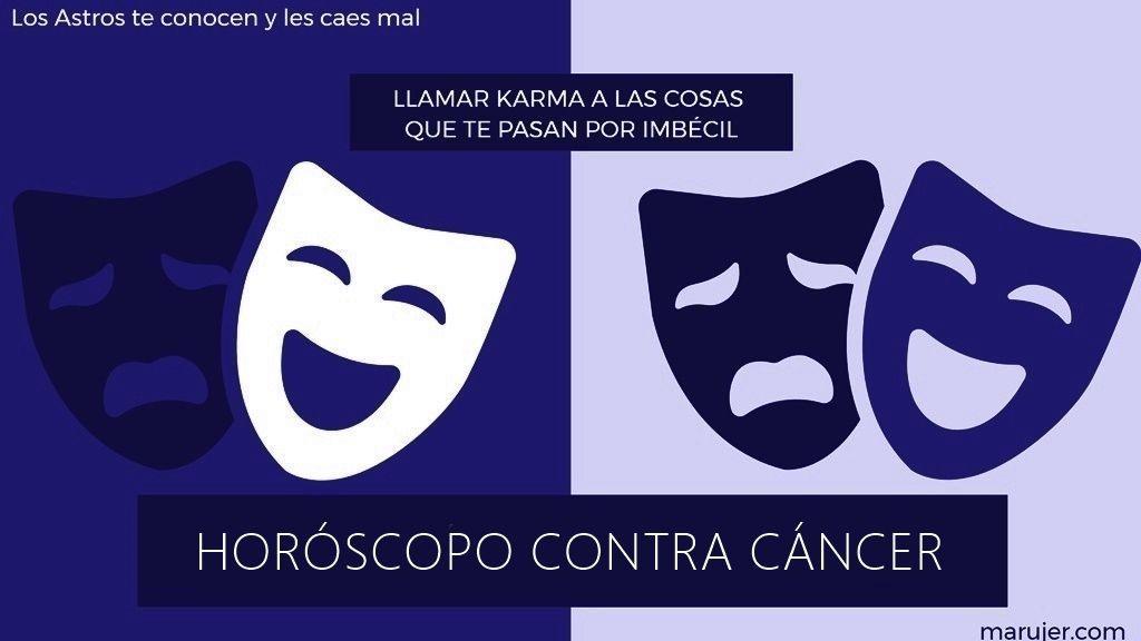 horóscopo contra cáncer