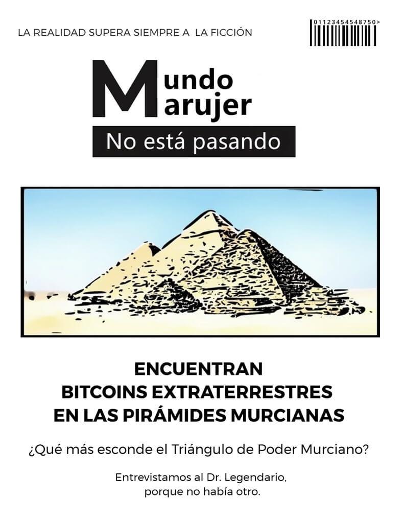 no dejan de aparecer cosas misteriosas en las Pirámides Murcianas