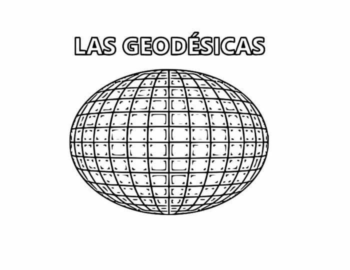 En una esfera las líneas rectas se llaman geodésicas