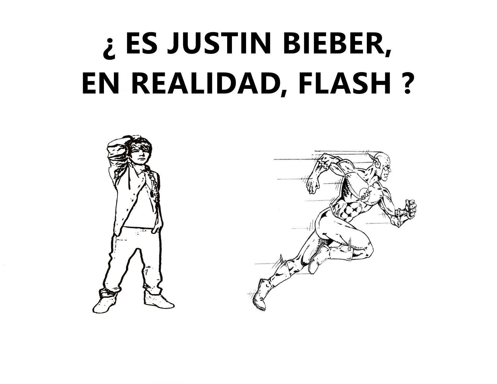 Justin Bieber explica la relatividad de la velocidad