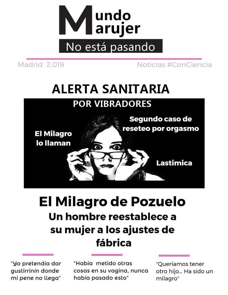 ALERTA SANITARIA POR VIBRADORES