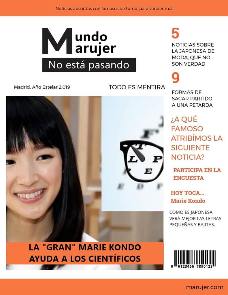 Marie Kondo ayuda a unos científicos Murcianos a descifrar la última línea de la tabla optométrica