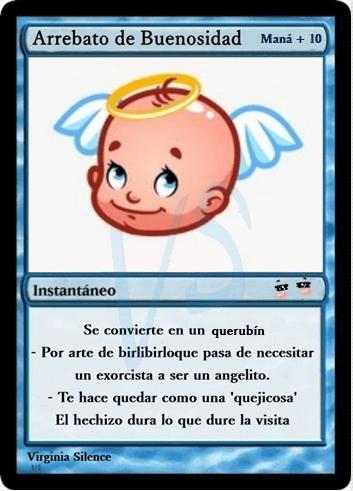 Magic Baby conjuro buenosidad