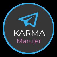 Logo Karma Marujer en Telegram