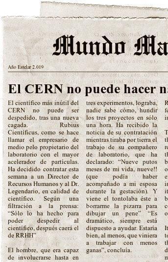 Contratan al Dr. Legendario en el CERN